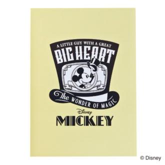ミッキーマウス生誕90周年商品 B7メモ ミッキー A1346