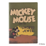 ミッキーマウス生誕90周年商品 B6ノート ミッキー1 R1594
