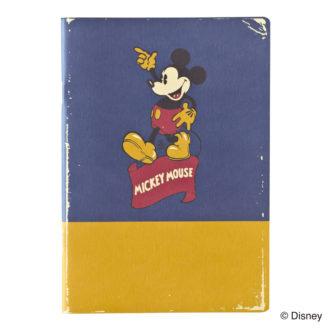 ミッキーマウス生誕90周年商品 B6ノート ミッキー2 R1595