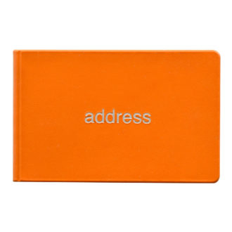 薄型アドレス オレンジ G7000