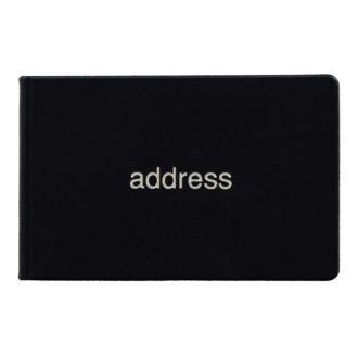 薄型アドレス ブラック G7001