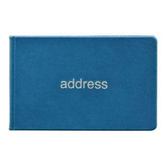 薄型アドレス ブルー G7002