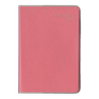 2020年1月始まり ミル MILL E7562Y 1ヶ月ブロック 日曜始まり 薄型 SOFT B6 ピンク