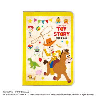 2020年1月始まり ディズニー©Disney Diary A6マンスリー トイ・ストーリー ウッディ E6134Y