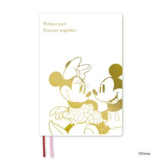 2020年1月始まり ディズニー Disney Diary B6 1週間+横罫 ミッキー&ミニー E6140