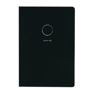 2020年1月始まり コネクトグラフィック CONNECT GRAPHIC B6 LADDER MONTHLY SOLAR ブラック V2620