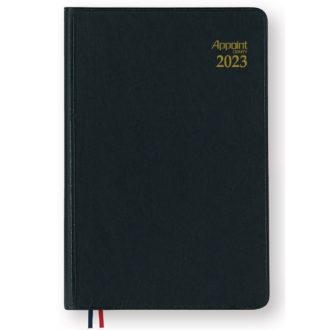 2017年4月始まり アポイント Appoint E1101 1週間+横罫 手帳(ミニ)サイズ ブラック