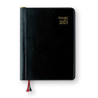 2017年4月始まり アポイント Appoint E1110 見開き2週間 鉛筆付き 手帳(ミニ)サイズ ブラック