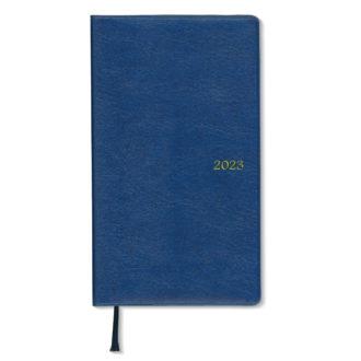 2017年4月始まり アポイント Appoint E1162 1ヶ月ブロック 薄型 日曜始 手帳サイズ ブルー