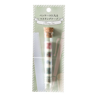 ペンケースに入るマスキングテープ Flower N1830