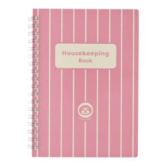 なまけものさんの家計簿 B6 ピンク J2110