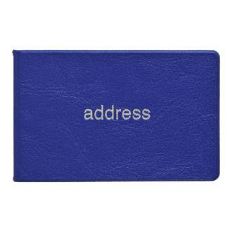 薄型アドレス ブルー G7013