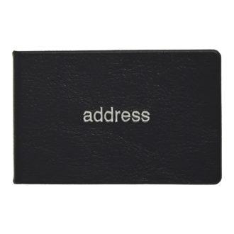 薄型アドレス ブラック G7015